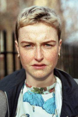 i-D Straight Ups Dublin online street style portrait sun freckles short hair girl