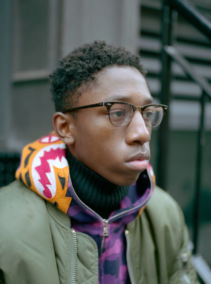 i-d magazine straight ups new york portrait on street supreme