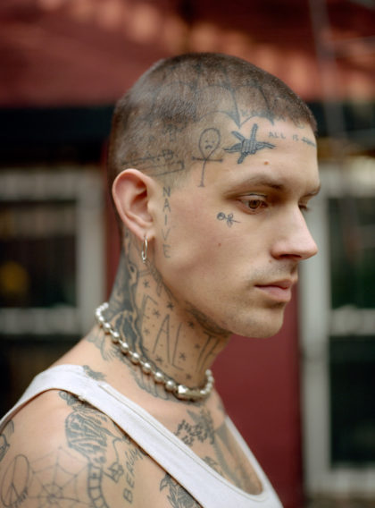 i-d magazine straight ups new york tattoo portrait